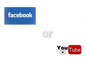 הפרסום בוידאו – יוטיוב מול פייסבוק – היכן כדאי לשווק?